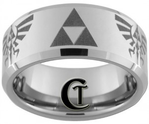 Zelda Ring – Get your rupees ready because you'll love this stylish triforce tungsten band. Let's see, you will need two red, one blue, and four green rupees to make […]