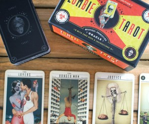 Zombie Tarot Cards – Predict your personal outcome to the impending zombie apocalypse, or if you're not physically intuitive, you can just use them as a really awesome Halloween party […]