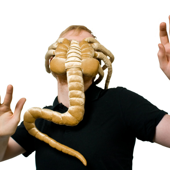 Alien facehugger mask alien facehugger plush aww