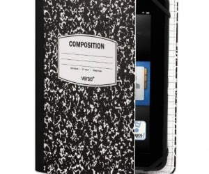 Kindle Notebook Case – Remember the good ol' days when you wrote down your thoughts and notes with a pencil in a composition pad that you carried everywhere?