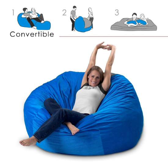 bean bag chair and bed shut up and take my money With bean bag chair with bed inside