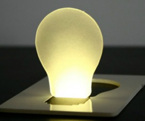 Credit Card Light Bulb – With the stormy season quickly approaching, you never know when you will be in need of an emergency light. Good thing you will have one […]
