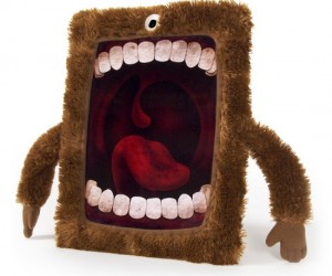 Your iPad can be fuzzy, lovable, and terrifying at the same time. It's just simply irresistible.