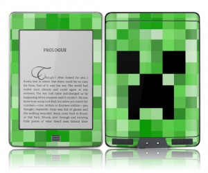 Minecraft Kindle Cover – A great way to read any Minecraft fan fiction.