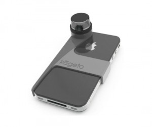 360 Degree iPhone Camera – There is no direction your iPhone can't see when it is wearing the Kogeto Dot lens.
