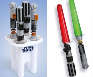 Lightsaber Popsicle Maker – Who knew lightsabers could be so delicious!