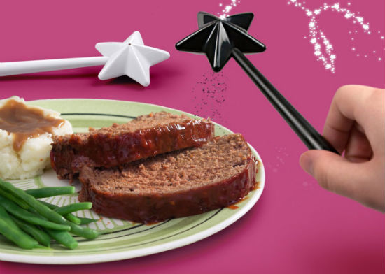 magic wand salt pepper shaker