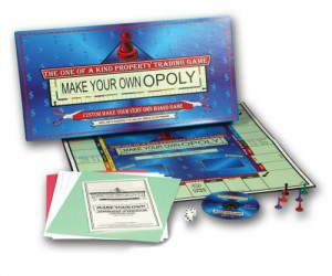 Getting bored (pun not intended) with the same old Monopoly? Well now you can make just how you've always wanted it to be!