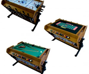 The perfect gift for the whole family! It has four different built in games on three different surfaces. No more listening to your family fight over whether they want to […]