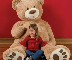 Six Foot Teddy Bear – Who wouldn't want a giant snuggly teddy bear!?