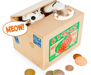 Kitty Coin Bank – The cutest way to store your spare change ever, you will have a hard time not saving up because you will love to watch the kitty […]