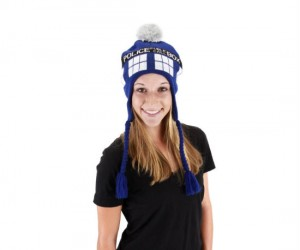 TARDIS beanie – Guaranteed to keep an Whovian's head warm this holiday season.