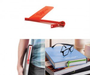 Zipper Bookmark – This isn't your grandmother's bookmark