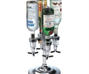 4 Bottle Drink Dispenser for the professional alcoholic