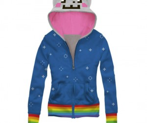 Nyan Cat Hoodie – You can feel just like you're zooming through space like a little grey pop tart kitty, but too bad you won't actually be able to do […]
