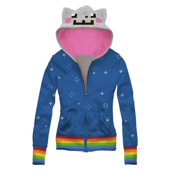 nyan cat hoodie shut up and take my money