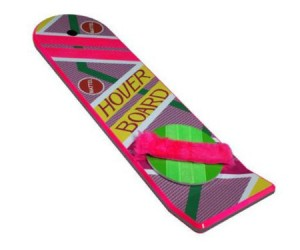 Back To The Future Hoverboard – Great Scott!!! It is an exact replica of the hoverboard from one of the best