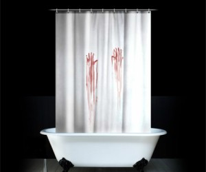 If you have the Bloody Bath Mat, then you really need the bloody shower curtain to pull it all together. You might get some interesting reactions from people who use […]