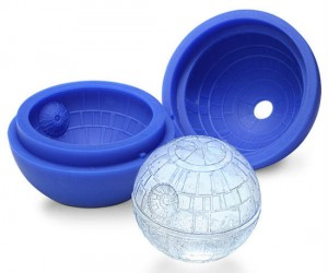 Death Star Ice Cube Mold – Makes one glorious Death Star Ice Cube