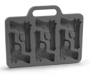 Handgun Ice Cube Tray – Perfect for taking 'shots'