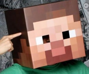 With this Giant Minecraft Pixel head you'll be taking your love of minecraft to a whole other level. Just watch out for creepers.