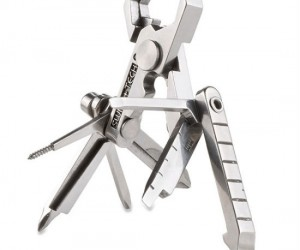 This ingenious little design brings 19 of the most useful tools into 1 easy to manage pocket sized multitool!