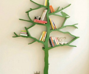Tree Bookshelf – Books might not grow on trees, but they are produced and manufactured out of trees. Remind those books of their ancestors while you display them on your […]
