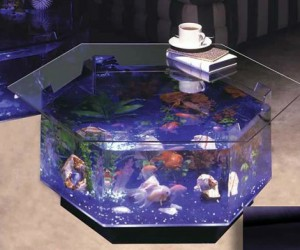 Lovely Aquarium Coffee Table
