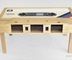 We may not use cassettes anymore but we can't just forget them. And they look pretty cool as a coffee table!