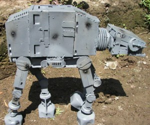 I guess AT-ATs are made from recycled computer parts, who knew? Well maybe it's not a real AT-AT, I mean its a lot smaller and non-functional, but none the less, […]