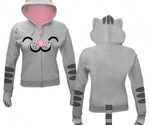 "Big Bang Theory Kitty Hoodie – While wearing this hoodie you won't be able to resist running around reciting ""Soft kitty, warm kitty, little ball of fur. Happy kitty, sleepy […]"