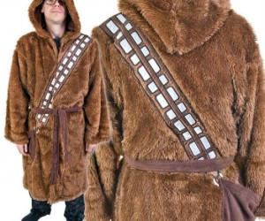 Chewbacca Robe – Made from only the finest Wookie fur, this robe is one of the warmest and furriest ever created.