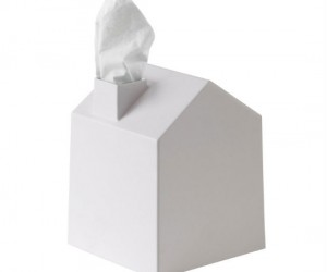 House Tissue Cover – Cover all of those ugly tissue boxes with this adorable little house
