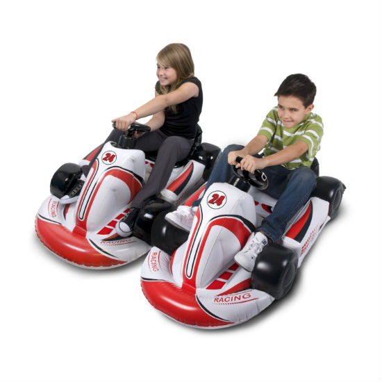 inflatable wii race car