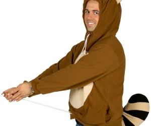 Mario Tanooki Hoodie – You may not be able to touch a floating leaf to make the Tanooki costume magically appear on you like Mario, but buying the hoodie should […]