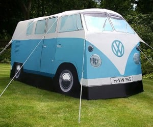 VW Camper Van Tent – What's cooler than camping in a VW Camper vant tent? Nothing.