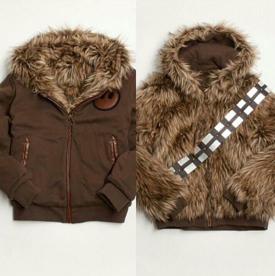 wookie reversible jacket