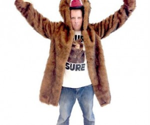 Exercise your second amendment with the Workaholic's bear coat – fur sure!