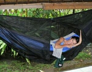 C0coon Hammock – Keeps bugs out… check, incredibly comfortable… check… feeling like a beautiful butterfly as you gracefully emerge from it… you'll just have to buy one to find out.