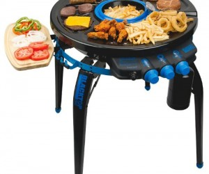 Grill from any angle with the 360 degree grill!