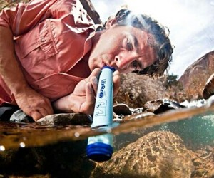 This amazing device purifies any form of water thereby making it drinkable. Never ever go hiking, camping, or exploring without one.