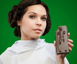 Han Solo Chocolate – Even Star Wars geeks love romance, give your Princess Leia a chocolate Han Solo for Valentine's Day. The traditio
