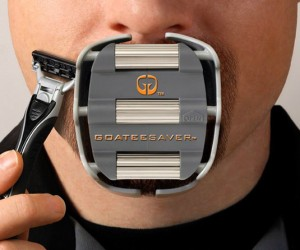Goatee Shaving Template – Now you can finally have the perfect goatee you've always been dreaming of!
