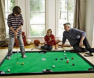 Putter Pool Indoor Game – Hybrid games, twice the fun!