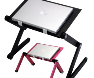 Adjustable Cooling Laptop Desk – So many adjustable possibilities!