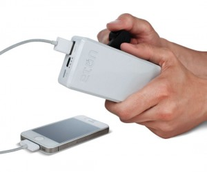 Hand Crank Phone Charger – Great for charging your phone without the use of electricity.