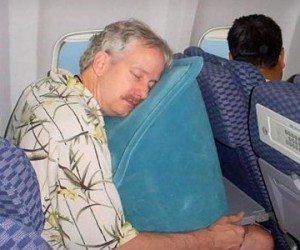 Airplane Travel Pillow – Get the most out of your next airplane ride with this comfortable travel pillow.