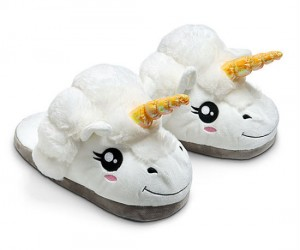 These adorable plush unicorn slippers are guaranteed to make your mornings 10 times more magical.