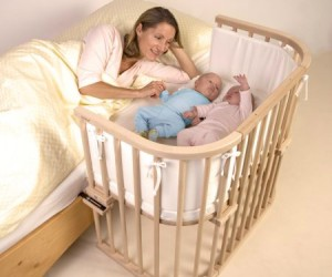Baby Cot – This is for all you mothers out there who wish you could just climb into the crib with your baby to cuddle them to sleep.