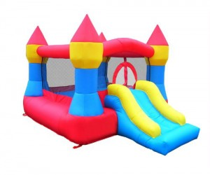 Nothing would make a kid (or adult) happier than having their very own bounce castle!